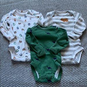 Newborn boy onsies